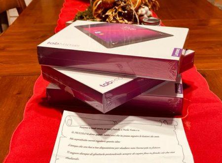 Tre tablet per la didattica donati alla Scuola Morbelli