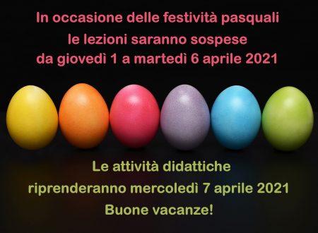 Arrivano le vacanze di Pasqua!
